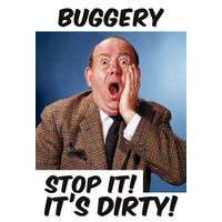 Buggery Stop It! It's Dirty Funny Fridge Magnet