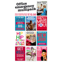 Office Emergency Pack of 10 Multipack