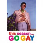 This Season Go Gay Funny Fridge Magnet