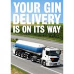 Your Gin Delivery Funny Birthday Card